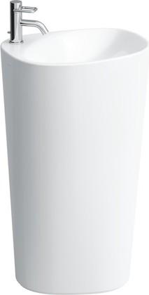 Свободностоящая раковина с креплением к стене 520x435x900мм Laufen PALOMBA 8.1180.4.000.104.1