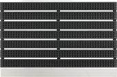 Коврик придверный Golze Super Brush, 40x60, чёрный 1850-15-44