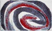 Коврик для ванной Grund Colani 70x120, полиакрил, серо-красный 2613.23.012