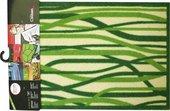 Коврик придверный Golze Contzen Mats 50x78см, зелёные полосы 1700-40-002-030