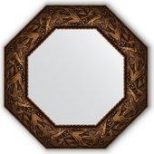 Зеркало Evoform Octagon 588x588 в багетной раме 99мм, византия бронза BY 3835