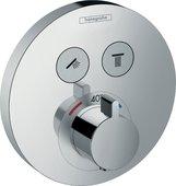 Термостат для душа Hansgrohe ShowerSelect, внешняя часть, хром 15743000