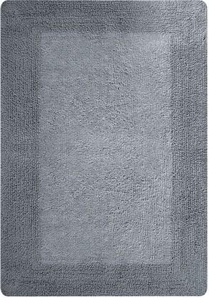 Коврик для ванной двухсторонний 60x90см серый Spirella GAIA 1018048