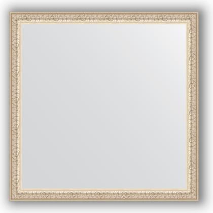 Зеркало 61x61см в багетной раме мельхиор Evoform BY 0775