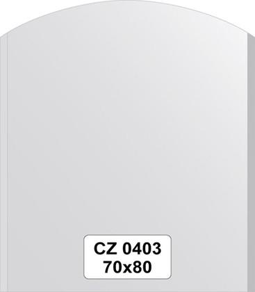 Зеркало для ванной 70x80см с фацетом 10мм FBS CZ 0403