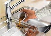 Кухонная мойка оборачиваемая с крылом, нержавеющая сталь полированная Blanco Livit 45 S 514788