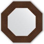 Зеркало Evoform Octagon 566x566 в багетной раме 90мм, бронзовая лава BY 3805