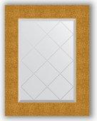 Зеркало Evoform Exclusive-G 560x740 с гравировкой, в багетной раме 90мм, чеканка золотая BY 4022