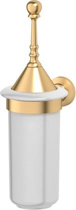 Туалетный ёршик 3SC Stilmar настенный, фарфор, матовое золото STI 324