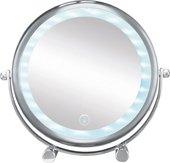 Косметическое зеркало Kleine Wolke Bright LED-Mirror на подставке , d17.5см, 17.5x12х29.5 см 5887124886