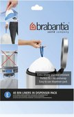 Пакет для мусора 20л пластиковый, размер E, 40шт Brabantia 362002
