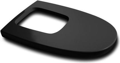 Крышка для биде с механизмом микролифт чёрная Roca Khroma 806652F7T