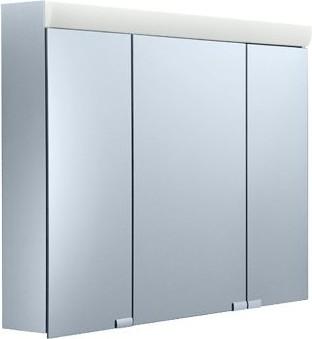 Зеркальный шкаф 90x70см с подсветкой трёхдверный Keuco ROYAL 10 05403171302