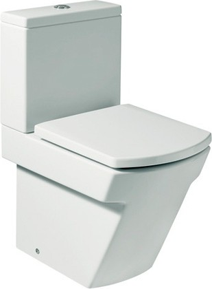 Унитаз напольный, выпуск Vario, комплект (чаша, бачок, сиденье с микролифтом) Roca HALL 342627
