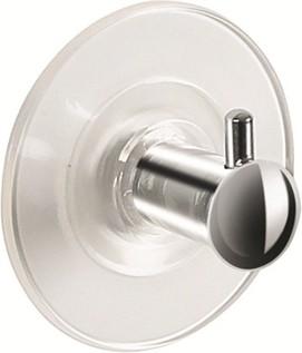 Декоративный крючок на присоске хром Spirella Molly 1013745