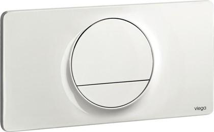 Кнопка смыва для унитаза пластиковая белая Viega Visign for Style 13 654498