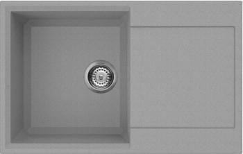 Кухонная мойка оборачиваемая с крылом, гранит, платина Omoikiri Sakaime 79-PL 4993281