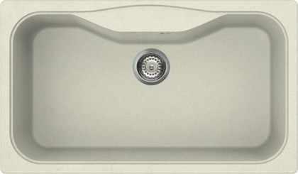 Кухонная мойка без крыла, гранит, ваниль Omoikiri Maru 86-BE 4993139