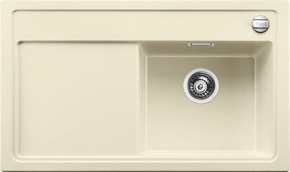 Кухонная мойка чаша справа, крыло слева, с клапаном-автоматом, гранит, жасмин Blanco Zenar 45 S 519256