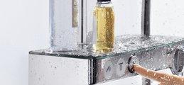 Душевой комплект с термостатом, хром Hansgrohe Raindance Select E 300 Showerpipe 27127000