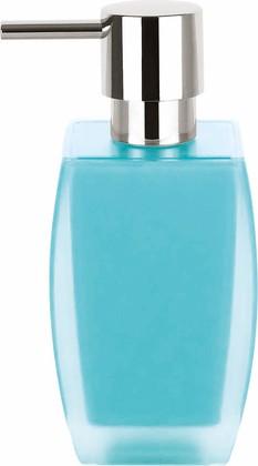 Ёмкость для жидкого мыла голубая Spirella FREDDO 1016097