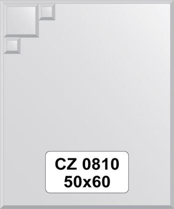 Зеркало для ванной 50x60см с декором FBS CZ 0810