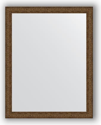 Зеркало в багетной раме 74x94см виньетка состаренная бронза 56мм Evoform BY 3265
