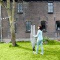 Сушилка для белья уличная для установки в грунт 60м Brabantia SmartLift 100369