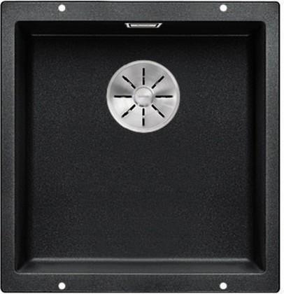 Кухонная мойка Blanco Subline 400-U, отводная арматура, антрацит 523422