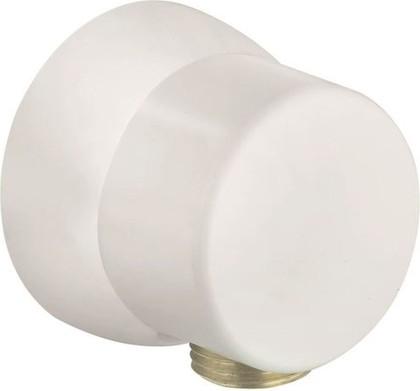 Подключение душевого шланга стандартное, белое Kludi SIRENA 6306143-00