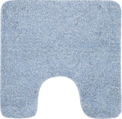 Коврик для туалета 55x55см голубой Spirella Gobi 1012422