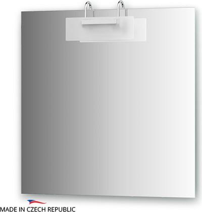 Зеркало со светильником 75x75см, Ellux MOD-D1 0210