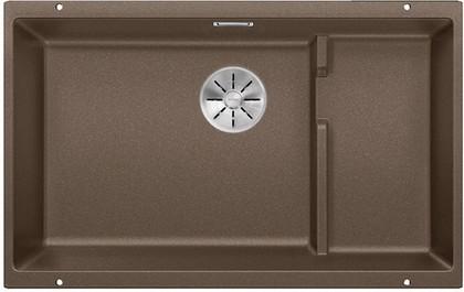 Кухонная мойка Blanco Subline 700-U Level, отводная арматура, мускат 523546