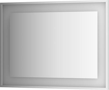 Зеркало 100х75 в багетной раме со встроенным LED-светильником Evoform BY 2205