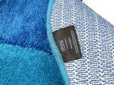 Коврик для ванной 60x100см, синий-бирюзовый Grund Curts b2570-16143