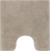 Коврик для туалета Spirella Monterey, 55x55см, хлопок, коричневый 1019197