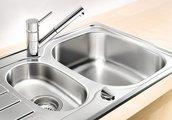 Компактный кухонный смеситель с выдвижным изливом, хром Blanco ANTAS-S 515348