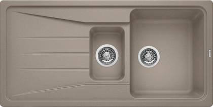 Кухонная мойка оборачиваемая с крылом, гранит, серый беж Blanco Sona 6 S 519858