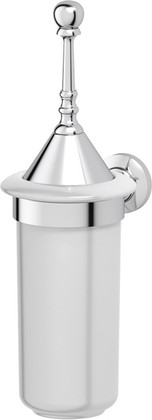 Туалетный ёршик 3SC Stilmar настенный, фарфор, хром STI 024