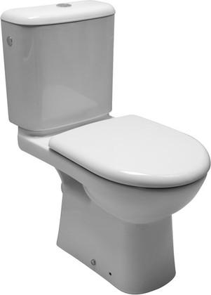 Унитаз напольный, выпуск косой, комплект (чаша, бачок), белый Jika Olymp 226140002429