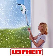 Чистые окна - это просто! Стеклоочиститель Leifheit надежный помощник