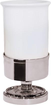 Стакан керамический, хром TW Bristol TWBR190cr