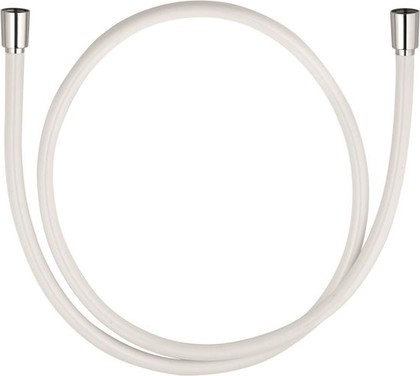 Душевой шланг пластиковый 1250мм, белый Kludi SUPARAFLEX SILVER 6107191-00