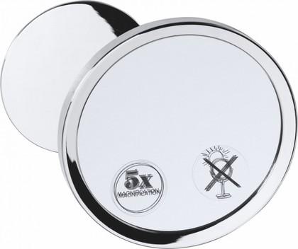 Зеркало косметическое Bemeta, настенное, хром 112101150