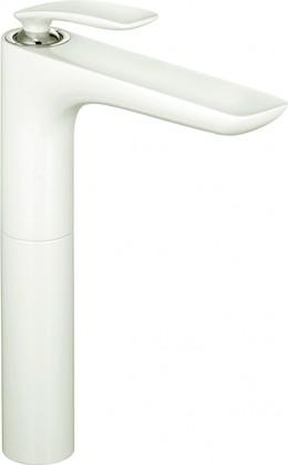 Смеситель однорычажный с высоким корпусом для раковины, белый / хром Kludi BALANCE 522989175