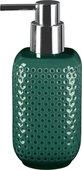 Дозатор для жидкого мыла Kleine Wolke Mila Smaragd керамика, зелёный 8401683854