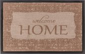 Коврик придверный Golze Homelike Welcome Home, 50х70см, коричневый 1676-40-63-60