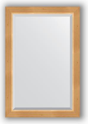 Зеркало 61x91см с фацетом 30мм в багетной раме сосна Evoform BY 1173
