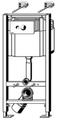 Модуль для унитаза Viega Eco 713386