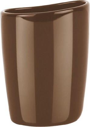 Стакан для ванной коричневый Spirella Etna Shiny 1016116